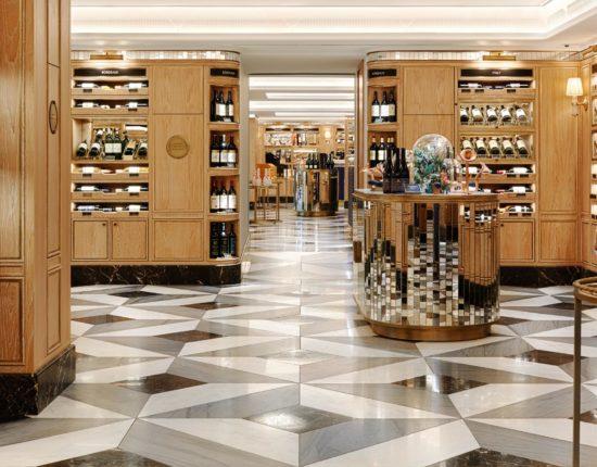 Harrods Wine shop Testigroup